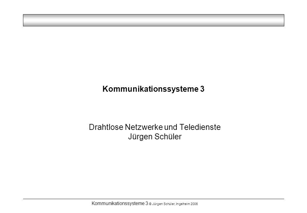 Kommunikationssysteme 3