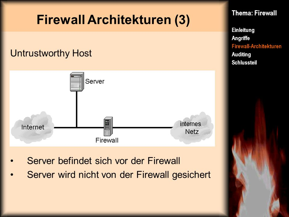 Firewall Architekturen (3)