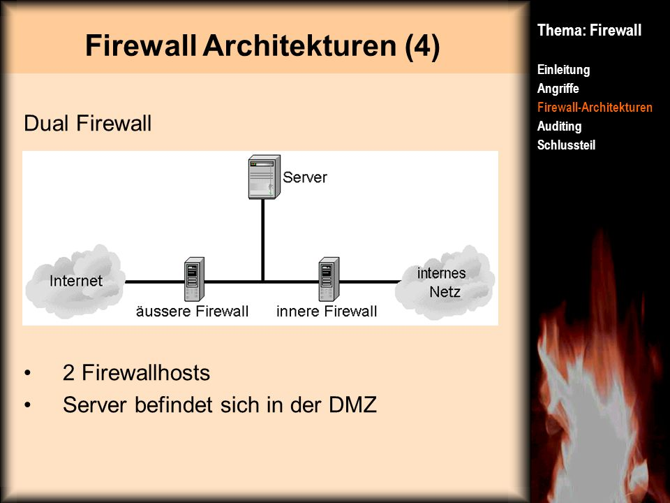 Firewall Architekturen (4)