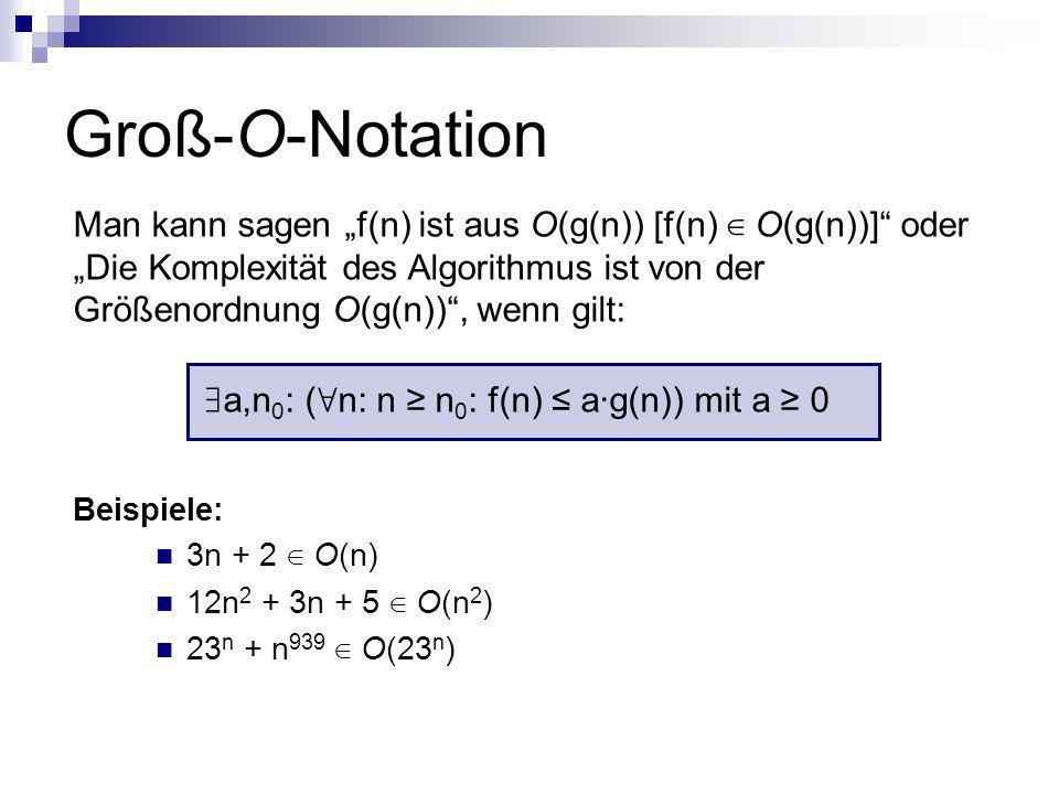 Groß-O-Notation