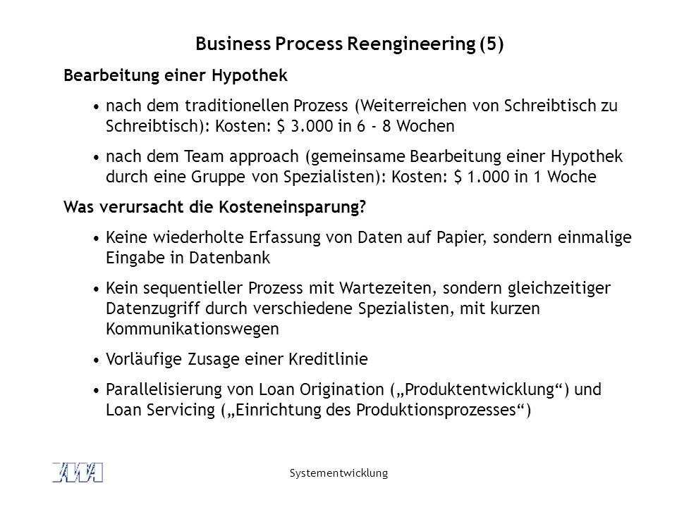 Business Process Reengineering (5)