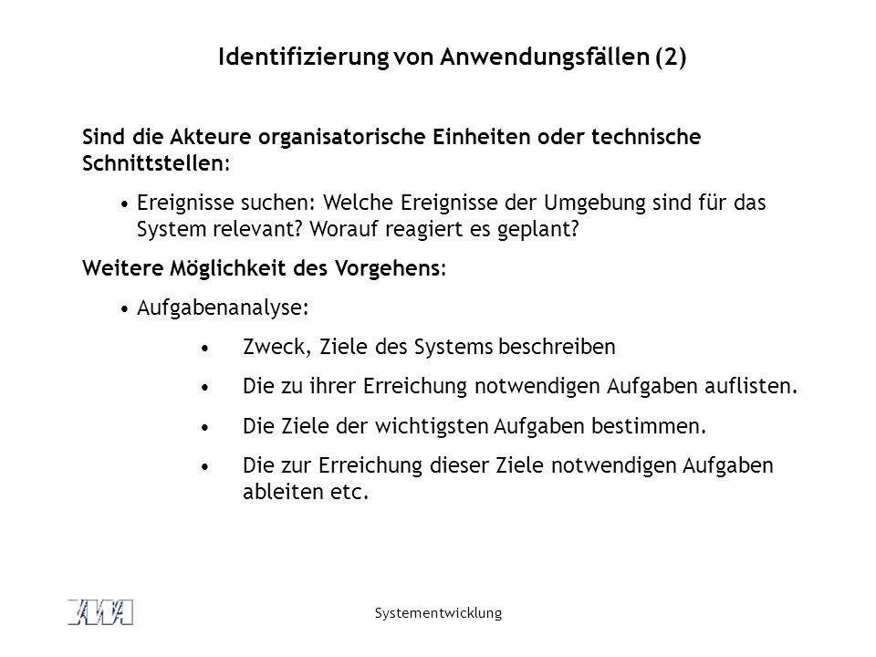 Identifizierung von Anwendungsfällen (2)
