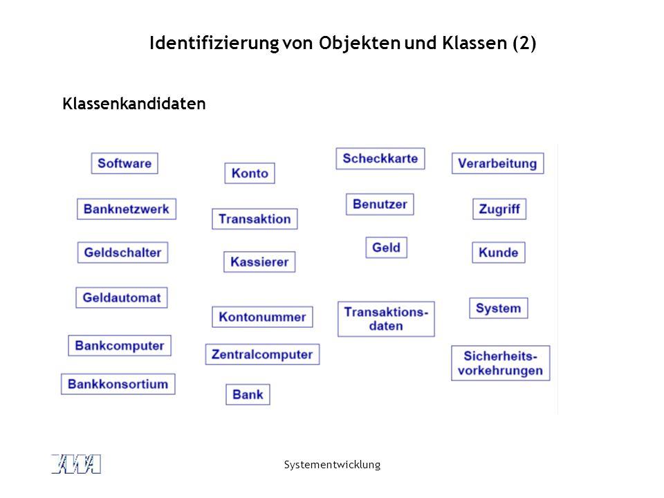 Identifizierung von Objekten und Klassen (2)