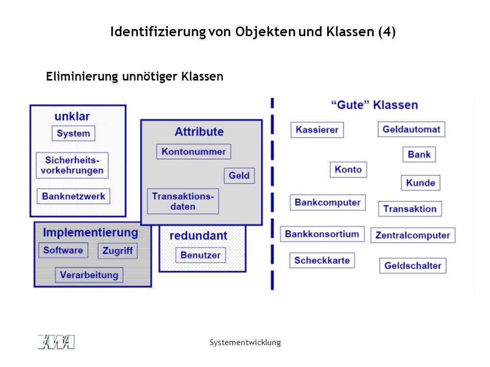 Identifizierung von Objekten und Klassen (4)