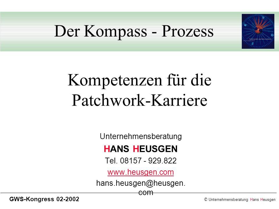 Kompetenzen für die Patchwork-Karriere