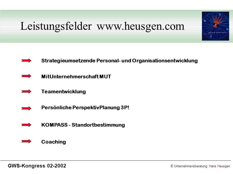 Leistungsfelder www.heusgen.com
