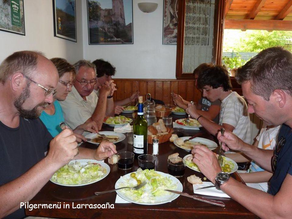 Pilgermenü in Larrasoaña