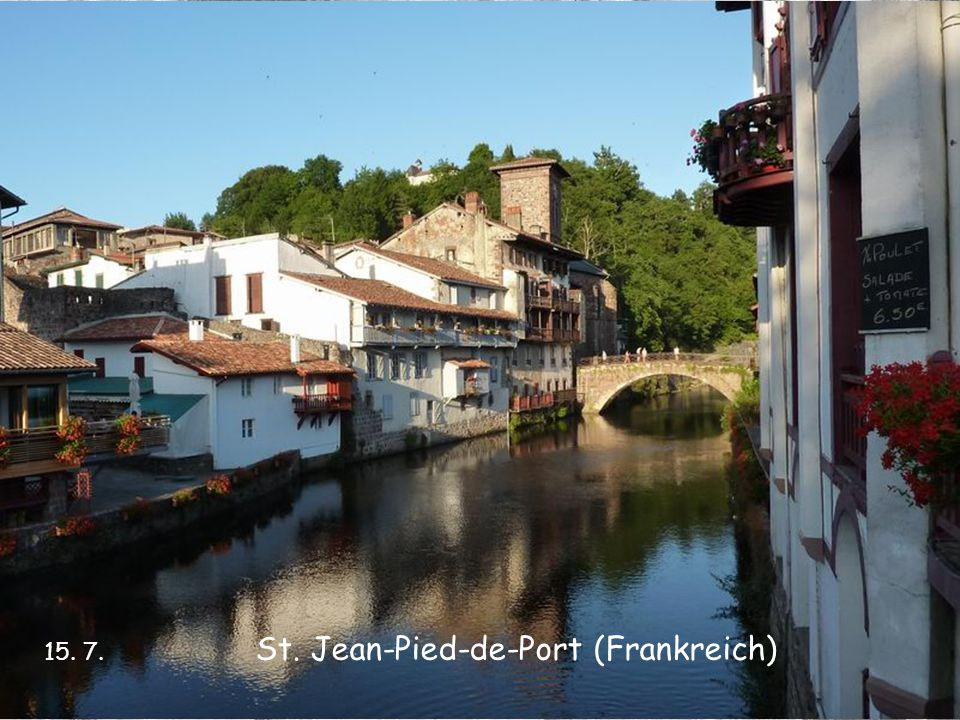 St. Jean-Pied-de-Port (Frankreich)