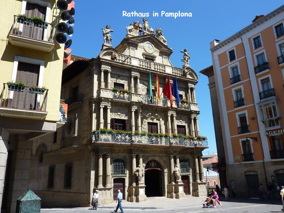 Rathaus in Pamplona