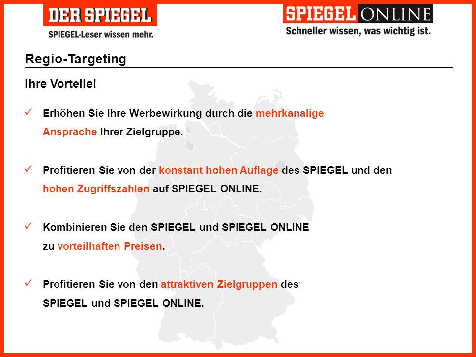 Regio-Targeting Ihre Vorteile!