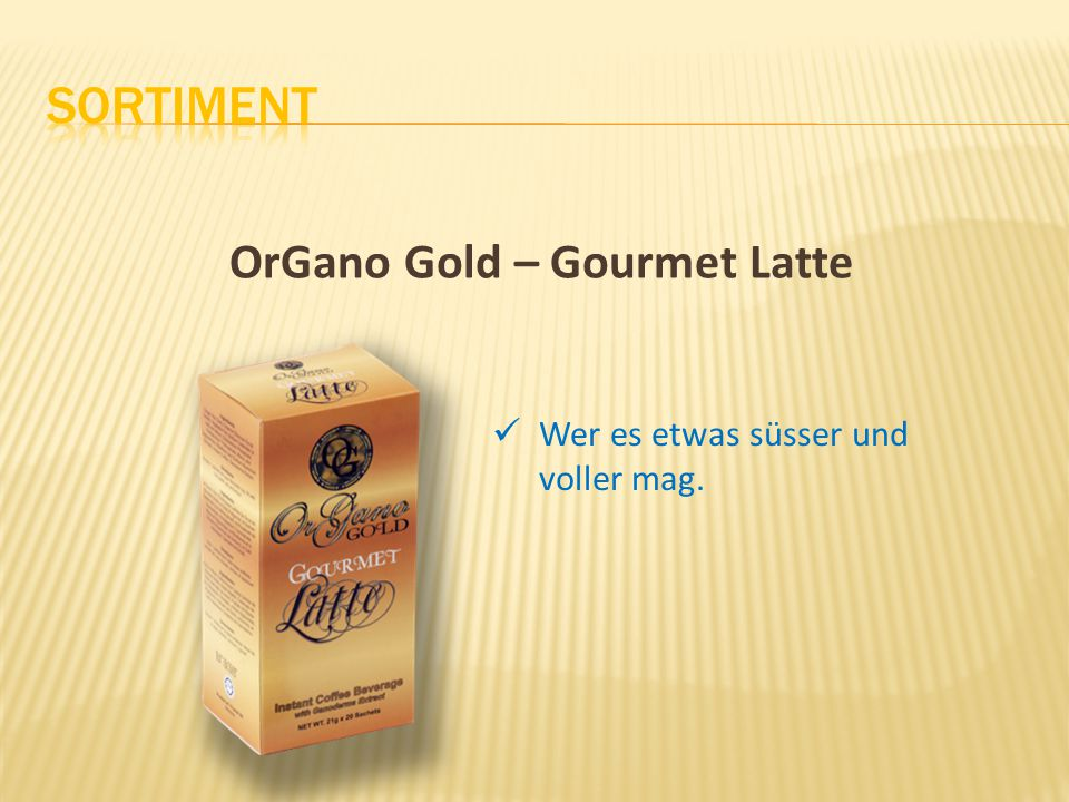 OrGano Gold – Gourmet Latte