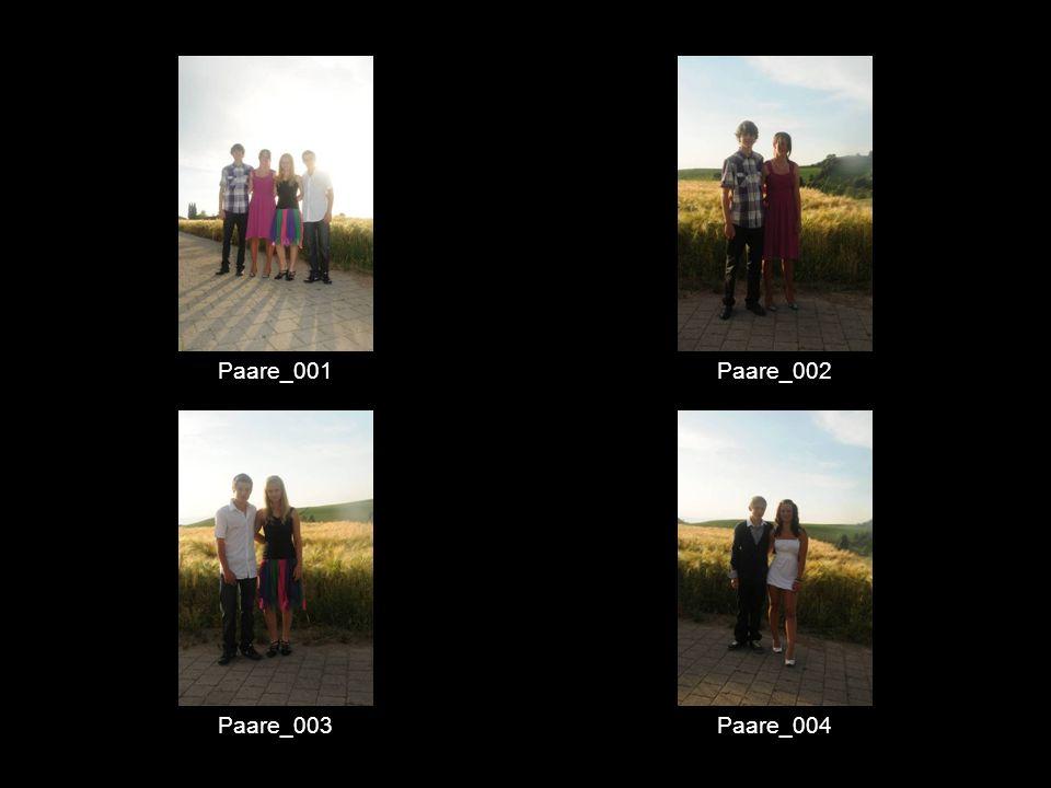 Paare_001 Paare_002 Paare_003 Paare_004