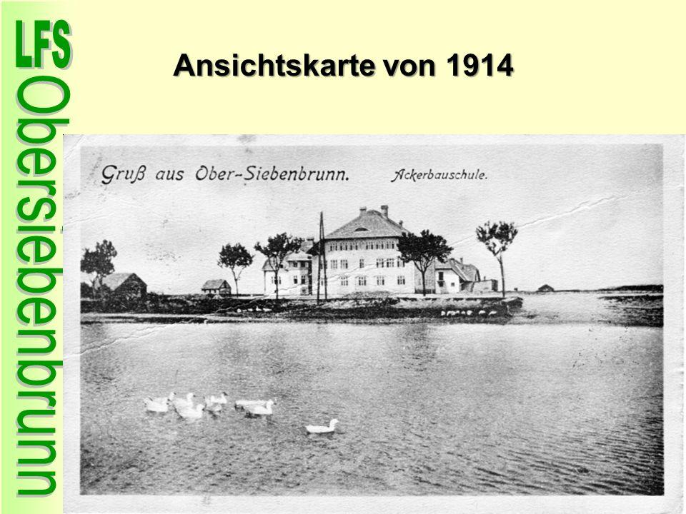 Ansichtskarte von 1914