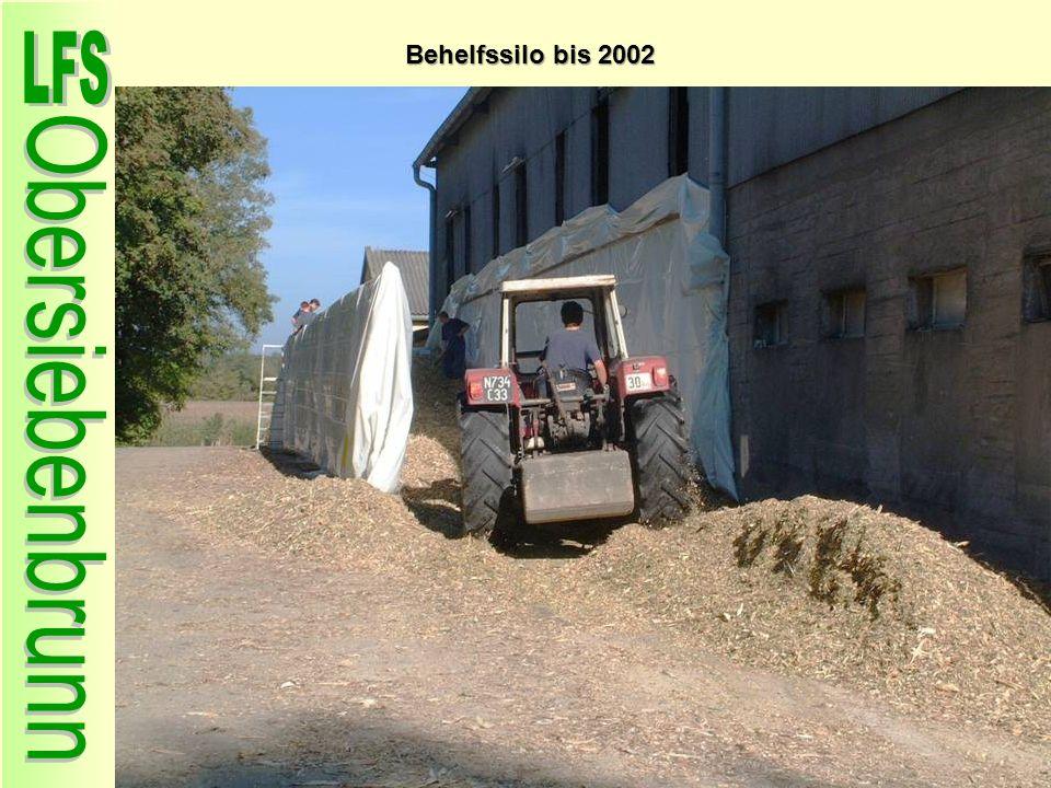 Behelfssilo bis 2002 44