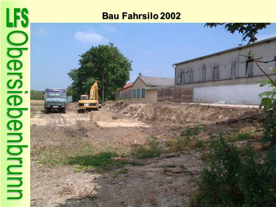Bau Fahrsilo 2002 55