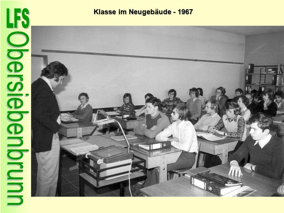 Klasse im Neugebäude - 1967 84