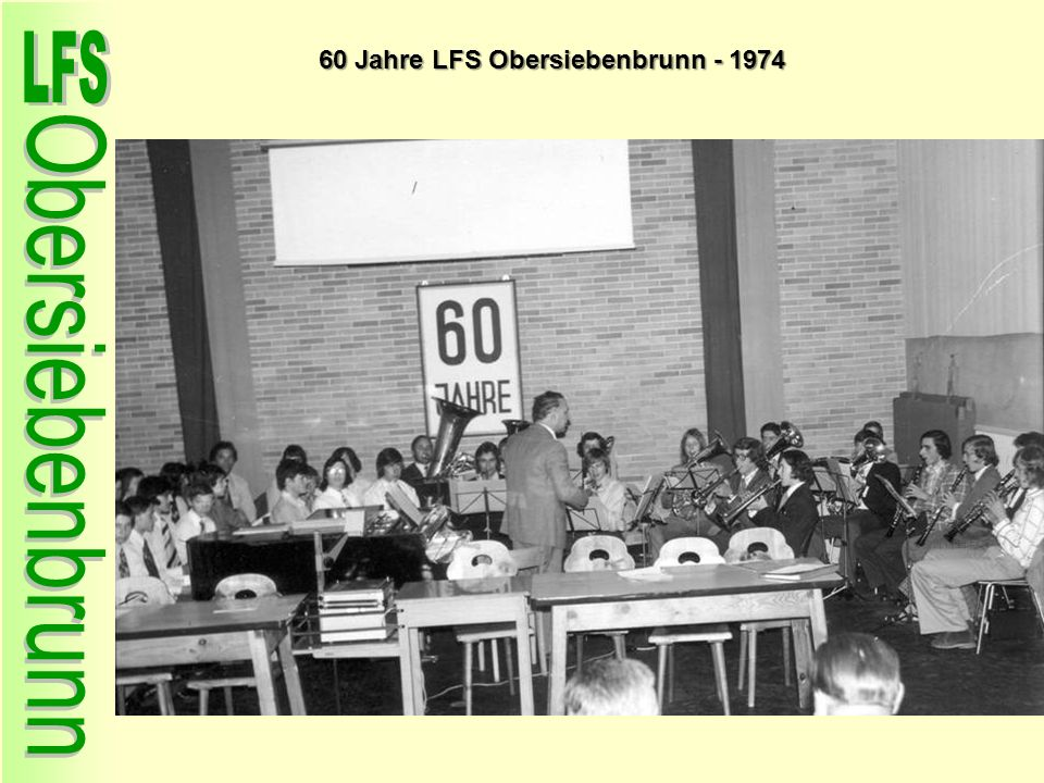 60 Jahre LFS Obersiebenbrunn - 1974