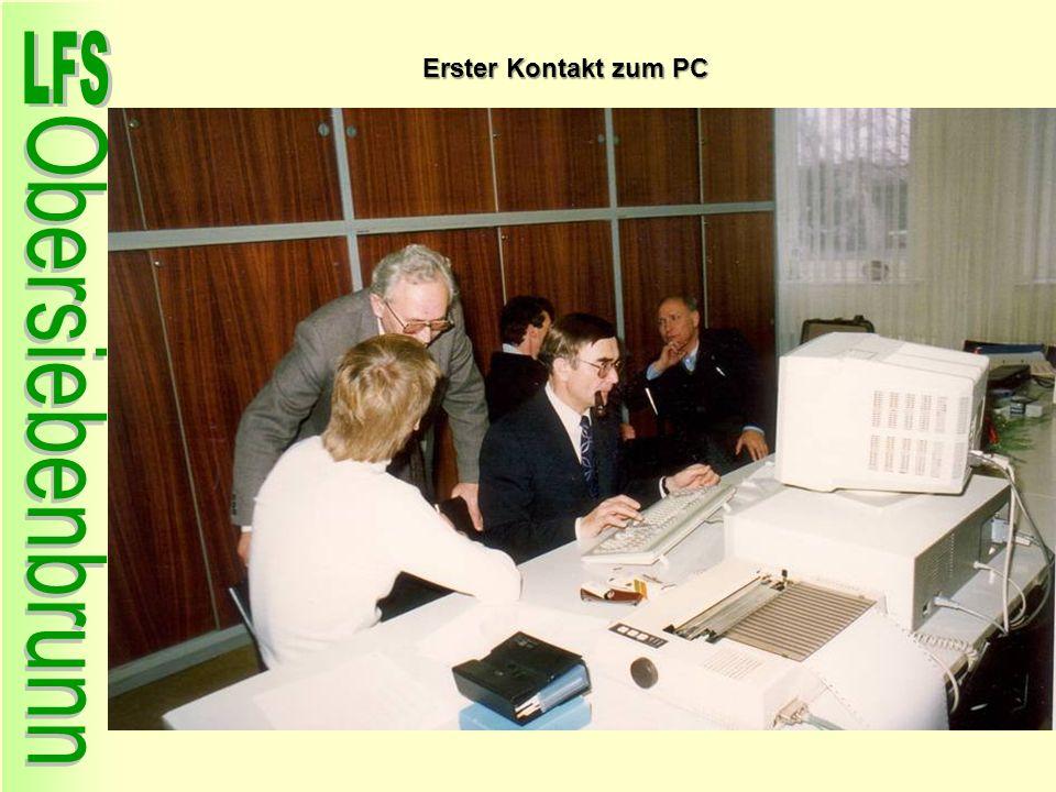 Erster Kontakt zum PC 92