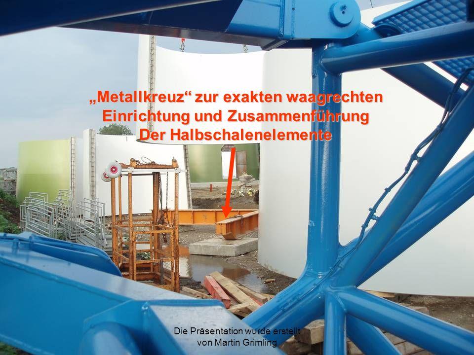 """""""Metallkreuz zur exakten waagrechten Einrichtung und Zusammenführung"""