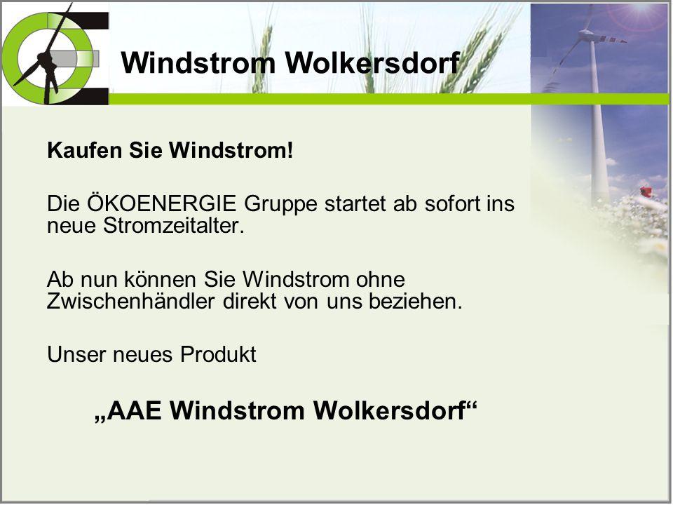 Windstrom Wolkersdorf