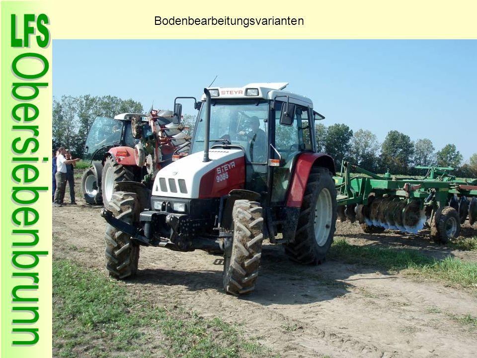 Bodenbearbeitungsvarianten