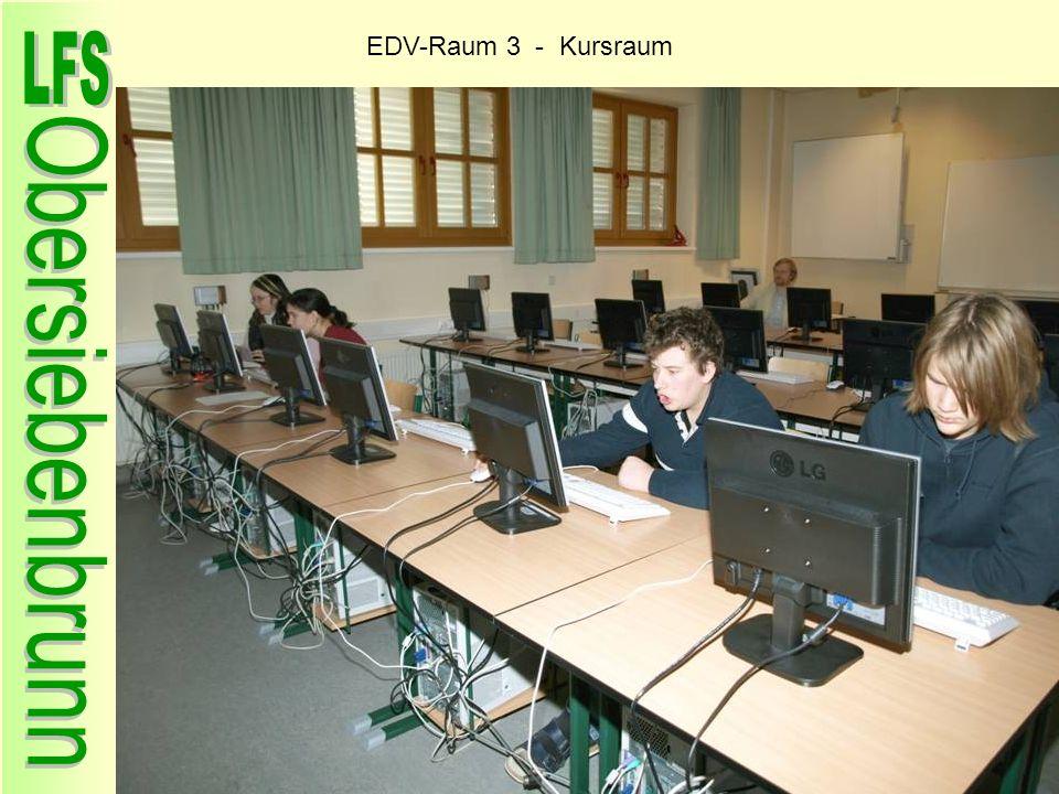 EDV-Raum 3 - Kursraum