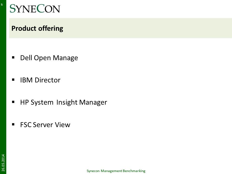 HP System Insight Manager FSC Server View