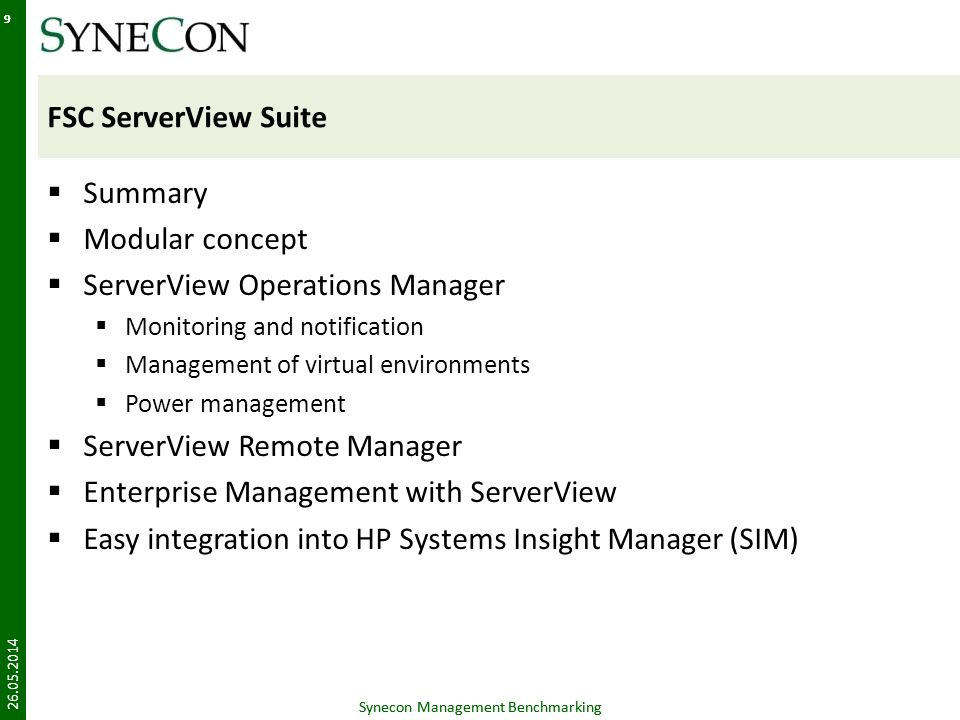 ServerView Operations Manager