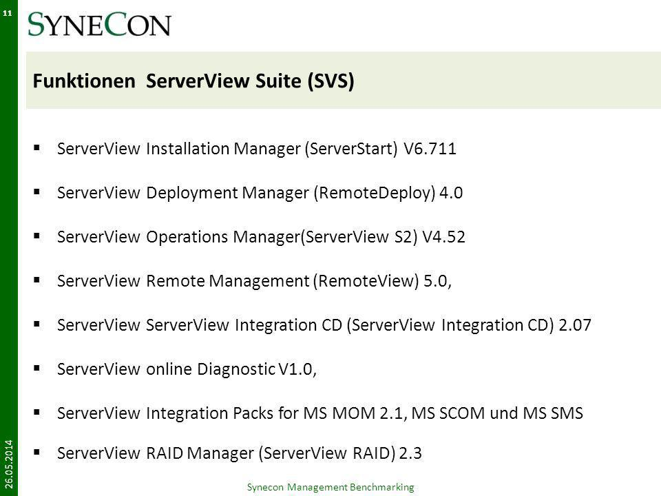 Funktionen ServerView Suite (SVS)