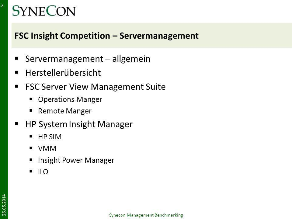 FSC Insight Competition – Servermanagement