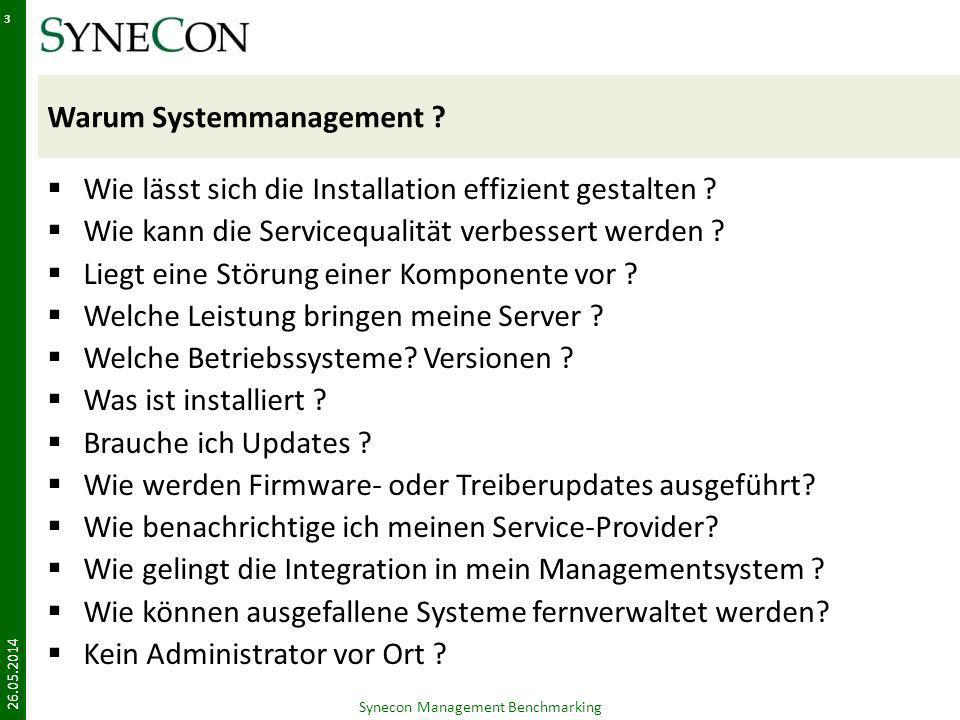 Warum Systemmanagement