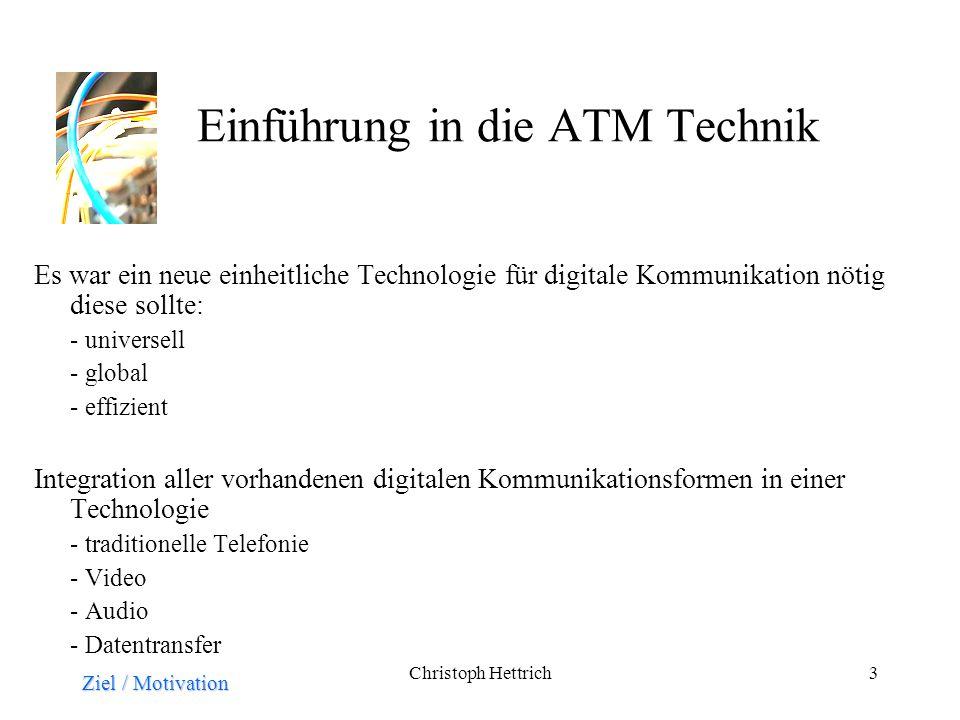 Einführung in die ATM Technik