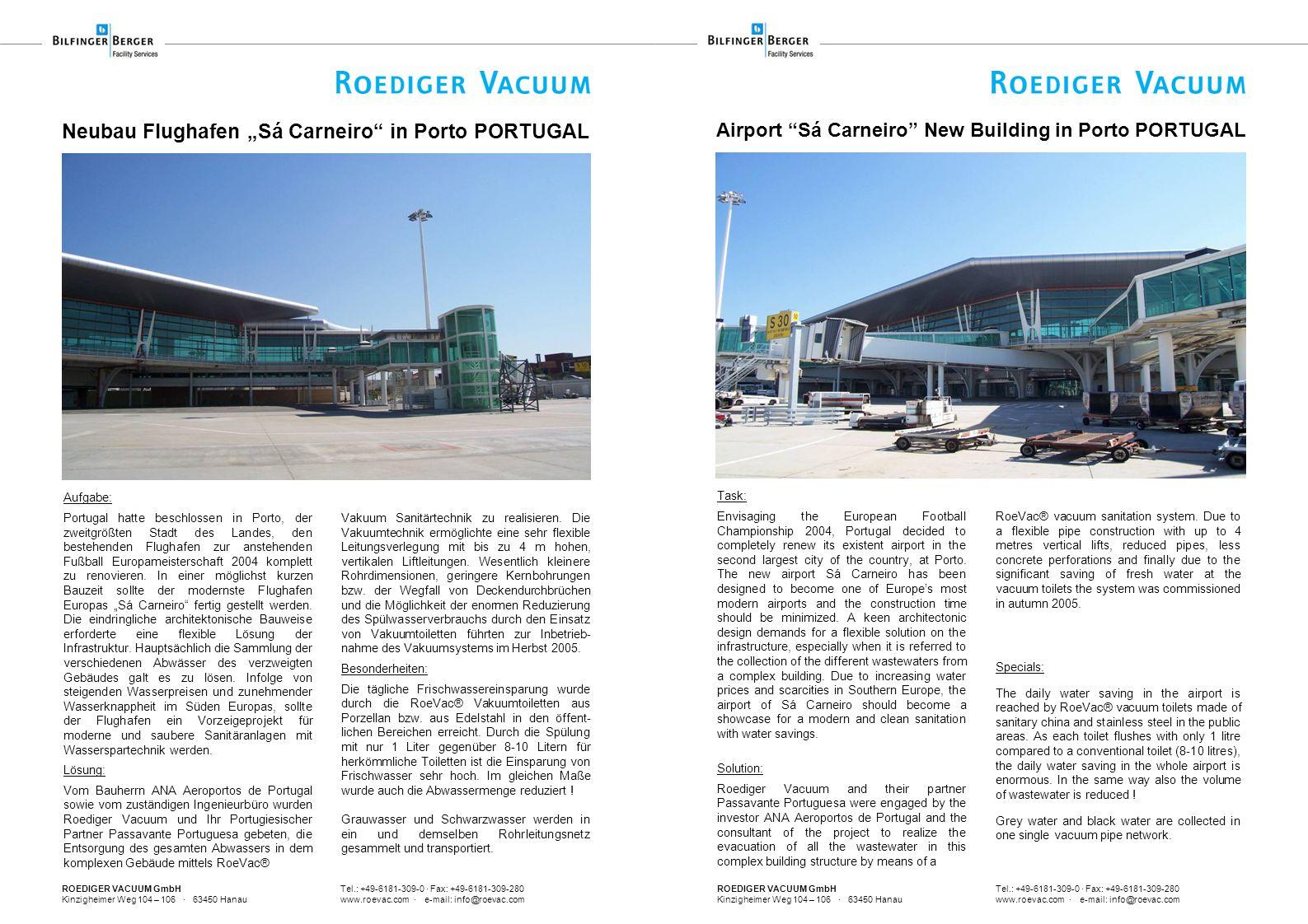 """Neubau Flughafen """"Sá Carneiro in Porto PORTUGAL"""