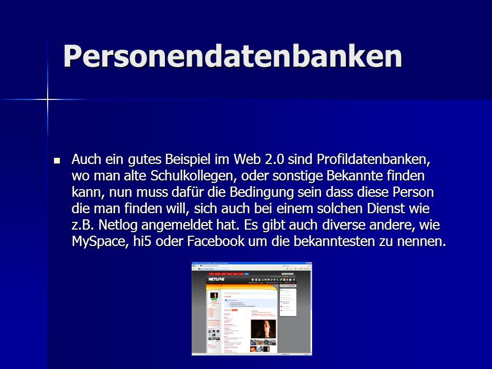 Personendatenbanken