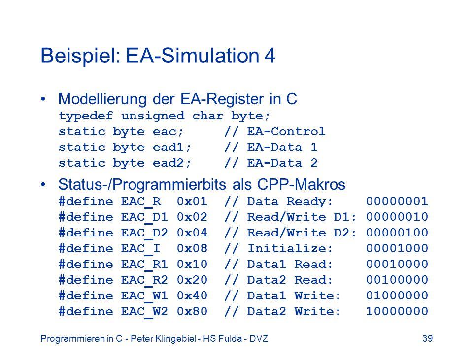 Beispiel: EA-Simulation 4