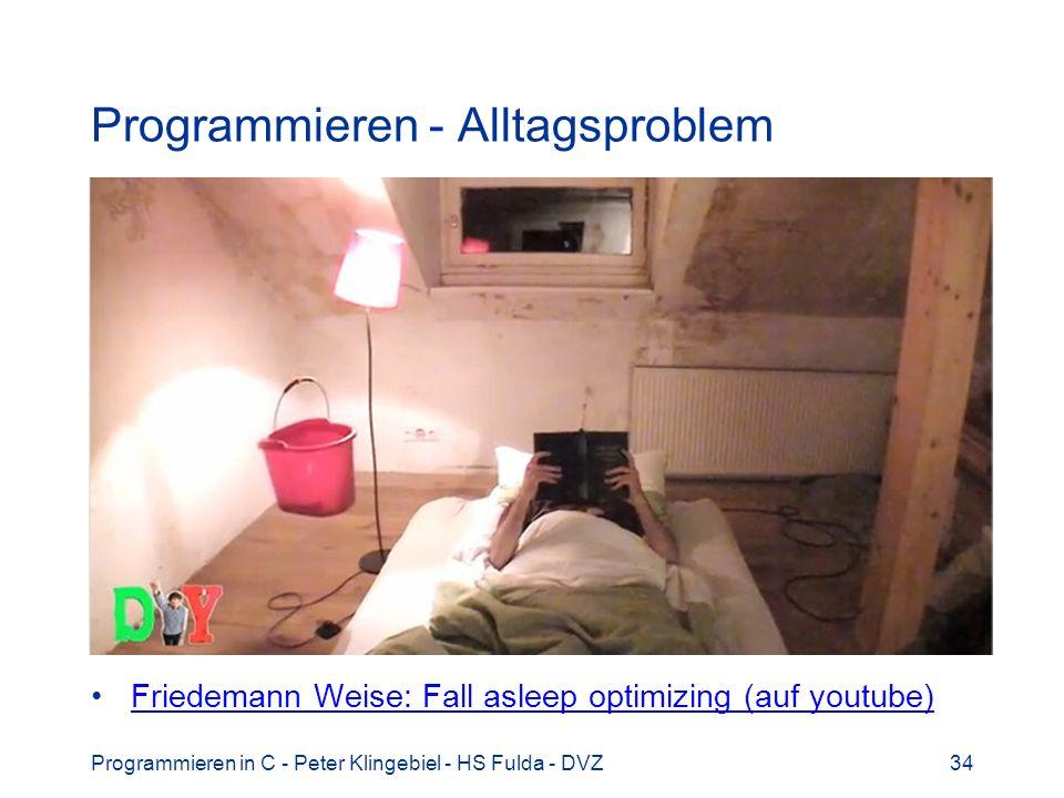 Programmieren - Alltagsproblem