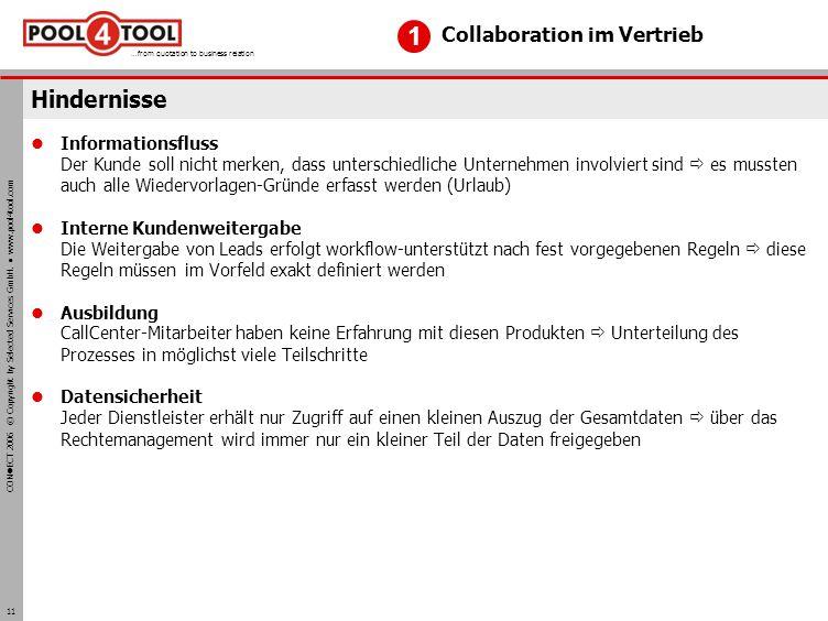 1 Hindernisse Collaboration im Vertrieb