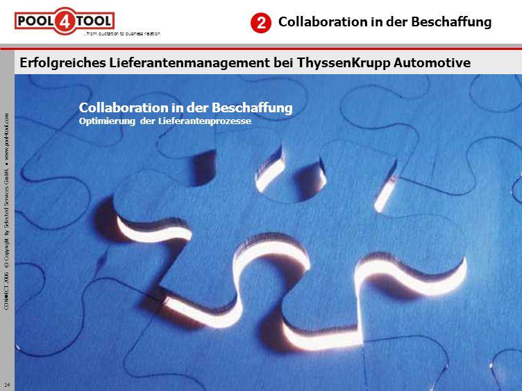 Erfolgreiches Lieferantenmanagement bei ThyssenKrupp Automotive