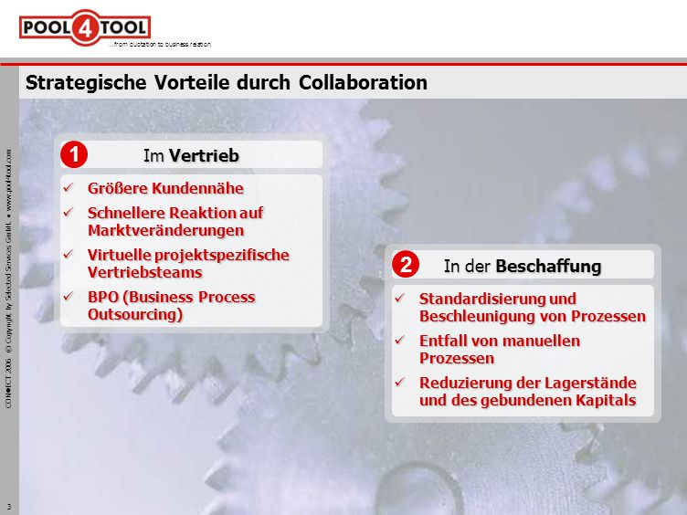 Strategische Vorteile durch Collaboration