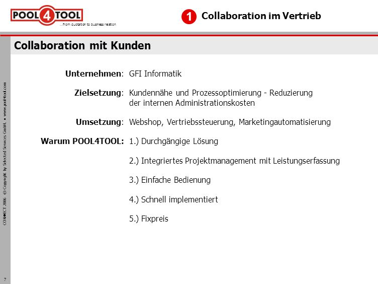 Collaboration mit Kunden