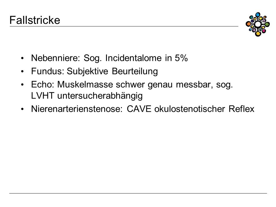 Fallstricke Nebenniere: Sog. Incidentalome in 5%