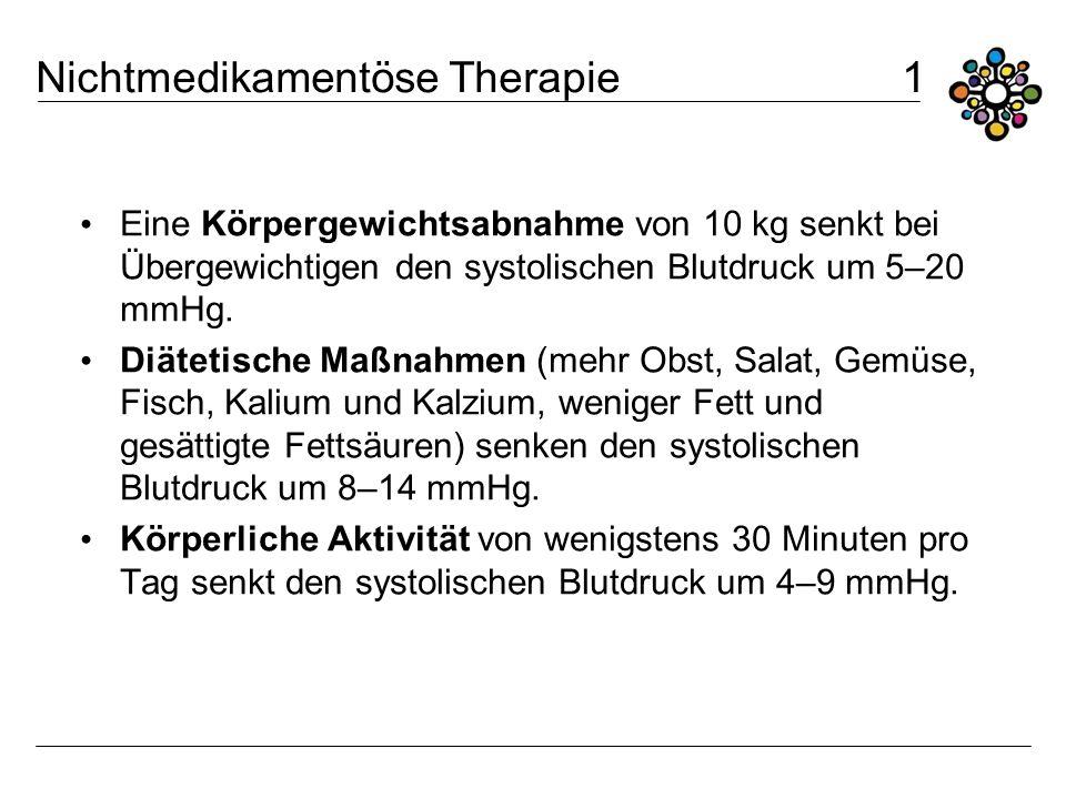 Nichtmedikamentöse Therapie 1