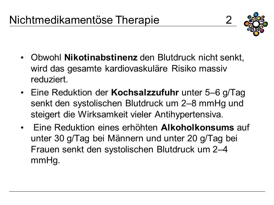 Nichtmedikamentöse Therapie 2