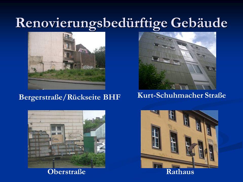 Renovierungsbedürftige Gebäude