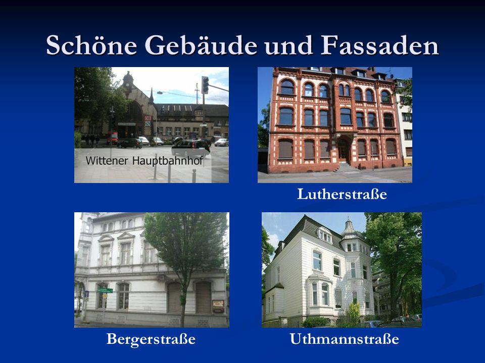 Schöne Gebäude und Fassaden