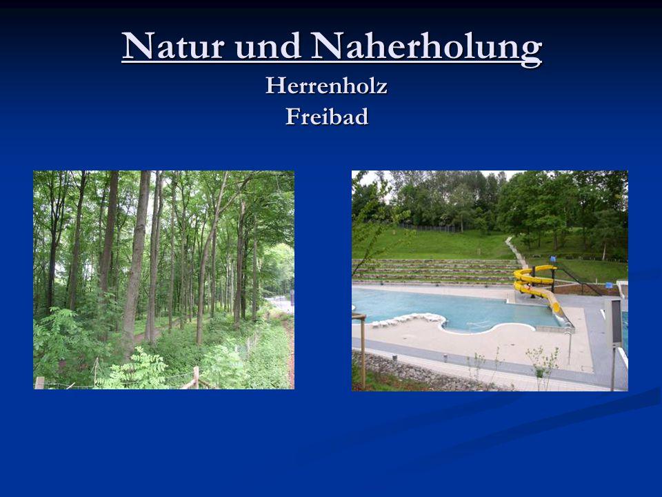 Natur und Naherholung Herrenholz Freibad