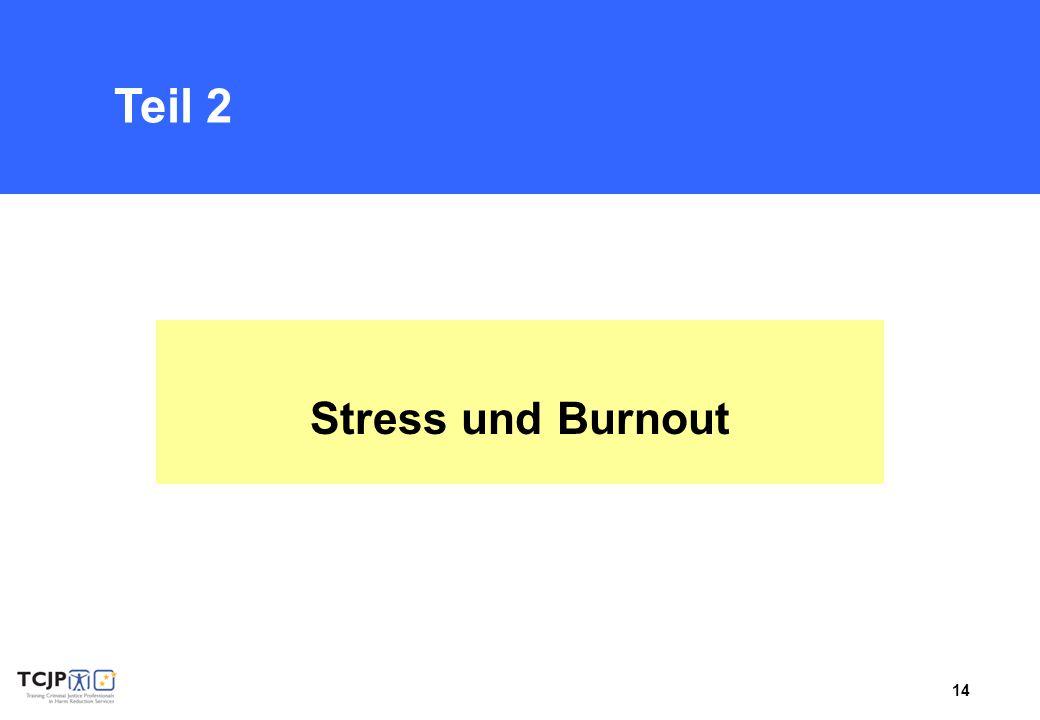 Teil 2 Stress und Burnout