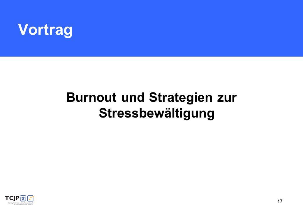 Burnout und Strategien zur Stressbewältigung