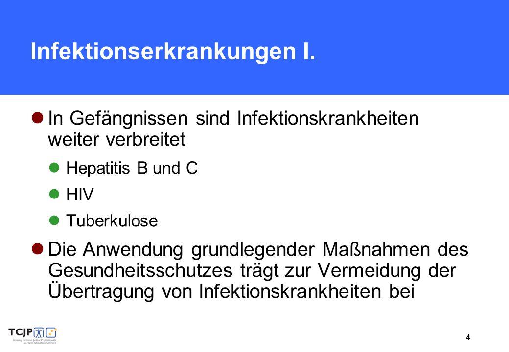 Infektionserkrankungen I.