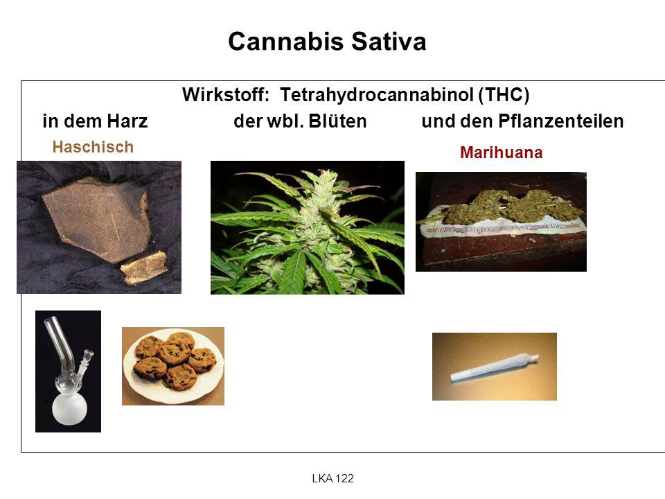Wirkstoff: Tetrahydrocannabinol (THC)
